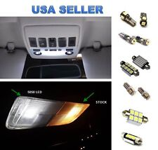 8 X Nissan Altima Sedan LED Lights Interior Package Deal For 2007-2012