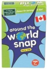 Educational Around the World Snap Card Game Geography g3