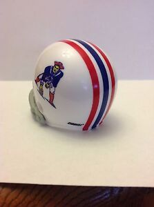 Boston Patriots 1969 Riddell Pocket Pro Helmet From 1969 AFL Throwback Set RARE