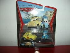 10/11 luigi et guido voiture metal cars Disney Pixar