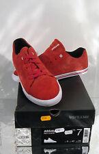 chaussure basket*SUPRA*ASSAULT CUIR rouge eu 40.5/US7.5/UK6.5 NEUF 95€ Sacrifié