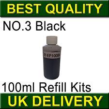 Black Refill Kits for Lexmark AIO printer X4580 NO.3
