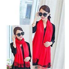 Châles/écharpe rouge pour femme