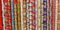 4 X 10M Christmas Gift Wrapping Paper Xmas Traditional And Cute Design Rolls