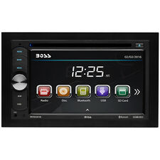 BOSS AUDIO BV9351B Double-DIN 6.2 inch Touchscreen DVD Player, Receiver,