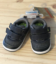 NEW! Surprize by Stride Rite Baby Boy Norman Grey Sneakers Shoes Size 3 Toddler
