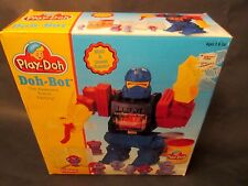 New In Box!!! 1996 Play Doh Transfomer Style Doh Bot! Molds & Smashes Robots!