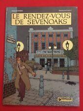 RENDEZ VOUS DE SEVENOAKS RIVIERE FLOC'H 1981 DARGAUD BON ÉTAT BD BANDE DESSINÉE