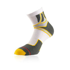 Calzini da uomo giallo per palestra, fitness, corsa e yoga