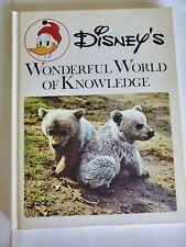 Vintage 1971 Disney'S Wonderful World Of Knowledge books, volumes 1, 2, 3