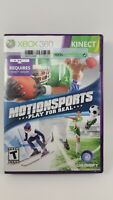MotionSports: Play for Real - Xbox 360 Kinect Game Motion Sports