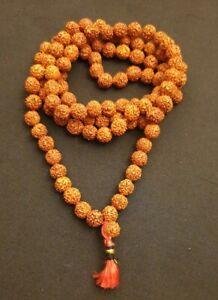 Rudraksha Mala 108+1 Meditation Yoga