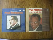 Paul Robeson 2 SEALED LPs A man & his beliefs / American Balladeer - Everest