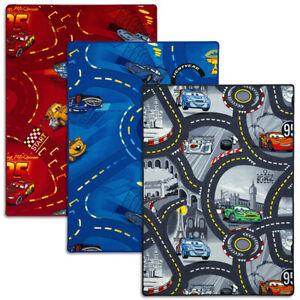 Kinderteppich Disney CARS Teppich Straßen Spielteppich (28,95€/1Stk)
