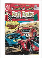 "HOT ROD & RACING CARS #112  [1972 GD+]  ""DESPERATE DUEL!"""