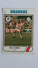 Scanlens Original 1976 Season NRL & Rugby League Trading Cards