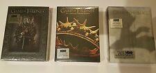 Game of Thrones SEASON 1, 2 & 3 DVD Big Box Sets sealed region 1 USA HBO