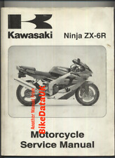 Kawasaki ZX-6R-J1 (2000 >>) Genuine Factory Shop Manual Book ZX6R ZX 600 J CB20