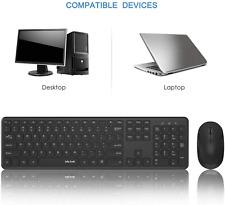 Dynex- Wireless Keyboard and Mouse Bundle - Black