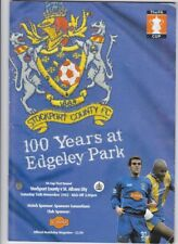 Stockport County v St Albans City 2002 / 2003 FA Cup 1st Round - November 16th