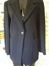Marella Navy virgin wool and cashmere jacket/blazer size 10