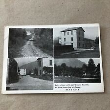 L) Large Format Postcard beverate of BRIVIO LECCO Oratory schools