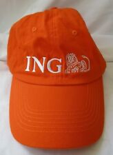 ING BANK ORANGE ADJUSTABLE CAP HAT