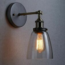 Vintage Industrial Wall Light Sconce Bell Glass Bathroom Picture Mirror Lamp