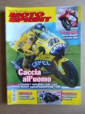 MOTOSPRINT n°5  2006     [Q30] TEST TRIUMPH DAYTONA 675 HONDA FORZA EX