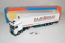 A5 31 1:50 TEKNO DAF 95XF 95 XF R.A. DE GRAAF B.V. TRUCK WITH TRAILER MIB