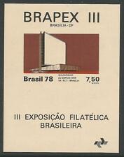 BRAZIL. 1978. BRAPEX III Stamp Exhibition Miniature Sheet. SG: MS1714. MNH.