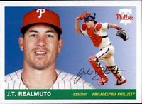 2020 Topps Archives J.T. REALMUTO 1955 Style Base Card Phillies #66