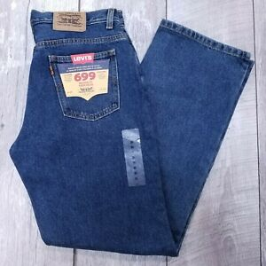 Vintage Levis 699 Jeans Womens 30x31 Dark Wash High Rise Relaxed Straight J188
