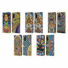 OFFICIAL CHRIS DYER MEDITATION LEATHER BOOK CASE FOR SAMSUNG PHONES 1