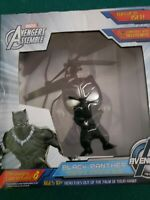 Marvel Avengers Assemble Blk Panther Levitating Hero Compatible wth Heli Remote