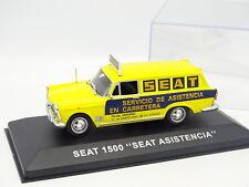 Prensa Ixo 1/43 - Seat 1500 Break Apoyo