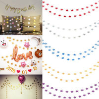 Star Bunting Banners Garland Wedding Baby Shower Birthday Party Hanging Decor