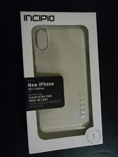 NEW INCIPIO Protective Case Clear impact for iPhone 10 Clear