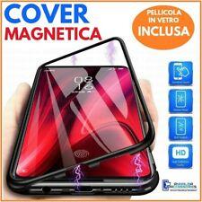 COVER CUSTODIA MAGNETICA + PELLICOLA VETRO TEMPERATO PER SAMSUNG GALAXY NOTE 8