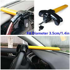 1.4in Car Truck Anti-Theft Lock Security Devices Heavy Duty Steering Wheel Locks