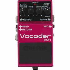 Boss VO-1 Vocoder Effects Pedal Stompbox VO1 for Guitarists New