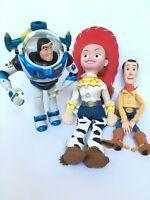 Disney Pixar Toy Story - Talking Buzz Lightyear - Talking Woody - Large Jessie