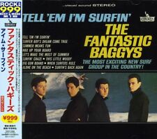 The Fantastic Baggys - Tell Em I'm Surfin [New CD] Japan - Import
