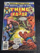 Marvel Two-in-one#16 Awesome Condition 5.5(1976) Kazar App!!