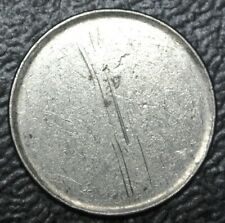 OLD CANADIAN COIN - 10 CENTS - **BLANK PLANCHLET** ERROR - NICKEL BLANK