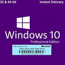 Microsoft Windows 10 Professional - MS Win 10 Pro - 32/64Bit Key in E-Mail ESD