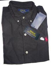 Ralph Lauren Polo Shirt Top Short Sleeve S M L XL 2xl 100 Genuine 2xl Black