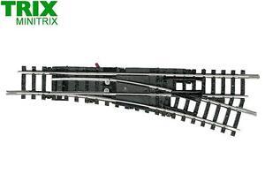 Minitrix / Trix N 14955 Handweiche rechts 15° 112,6 mm - NEU + OVP