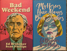 My Heroes Have Always Been Junkies + Bad Weekend Ed Brubaker Sean Phillips Image