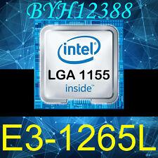INTEL Xeon E3-1265L 4-Cores 8 threads CPU 2.40GHZ/8MB LGA1155 CPU 45W